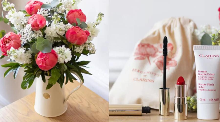 fleur et maquillage fête des mères