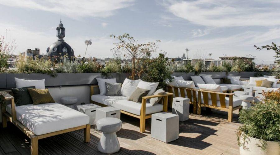terrasse hotel des arts et métier